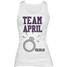 Bridesmaid t-shirt--- would seriously be kinda cool