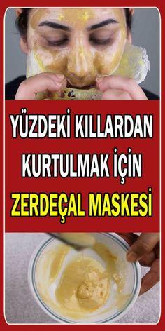 Yüzdeki kıllardan kurtulmak için zerdeçal maskesi. Süt, bal, zerdeçal ve jelatin kullanılarak yapılan bu yüz maskesi, yüzdeki kıllardan kalıcı olarak kurtulmanızı sağlayacak.