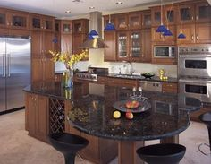 Odd Shaped Kitchen Islands | Found on look4design.com