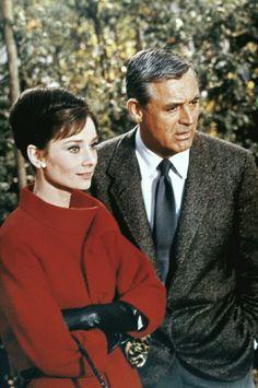 Audrey Hepburn & Cary Grant