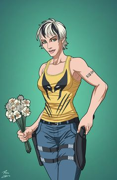 """""""Abby Holland"""" sponsored by amethystangel228, in memory of Len Wein, for Roysovitch's Earth-27 project. Concept/Design by Roy Westerman Character Owned by DC ComicsFB page for Earth-27:&..."""