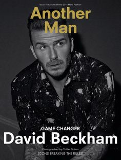 David Beckham for AnOther Man by Collier Schorr