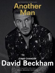 David Beckham for AnOther Man by Collier Schorr