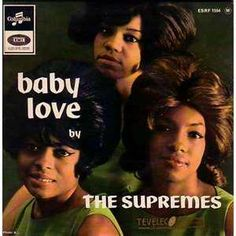 "October 1964 - 53 Years Ago Today: The Supremes began a four-week run at No. 1 on the Billboard Hot 100 Chart with their single, ""Baby Love."" This Holland-Dozier-Holland-penned song was the A Love Supreme, The Ventures, Tamla Motown, Happy Song, 60s Music, Pop Rock Bands, Billboard Hot 100, Diana Ross, Greatest Songs"