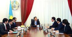 Bakytzhan Sagintayev meets with Ambassador Extraordinary and Plenipotentiary of Japan, Ichiro Kawabata  Today in Ukimet Uyi, the Prime Minister Bakytzhan Sagintayev held a meeting with the Ambassador Extraordinary and Plenipotentiary of Japan to Kazakhstan, Ichiro Kawabata.  http://s.pm.kz/Bd9S