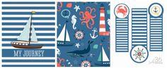 Boy Nautical Journal Printable