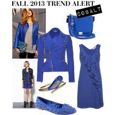Fall 2013 Trend Alert - Cobalt