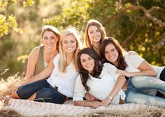 Cute friends, sisters, or cousins pose!!!! Might try this with all the girl cousins this summer!!!