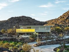 Designed in 1955 by architect Albert Frey, the Cree House is a pristine Palm Springs abode. The mid-century modern residence occupies acres and is. Noctis, Clerestory Windows, Ceiling Windows, Midcentury Modern, Albert Frey, Bungalow, Les Hamptons, Clad Home, Modernism Week