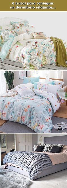 Trucos para conseguir un dormitorio relajante. Dormitorios relajantes. Tips para decorar habitaciones.