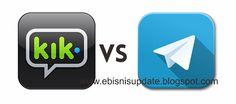 Telegram VS Kik Messenger