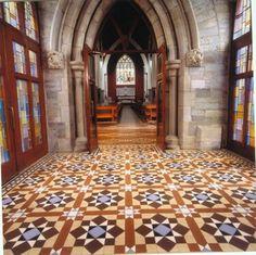 Spanish Style Tile Floor