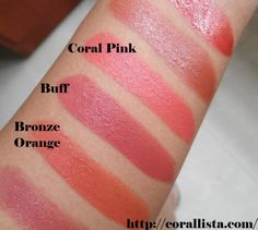 Maybelline lipstick swatches