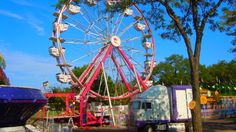 The Ferris wheel is among the carnival attractions at Buffalo Grove Days.