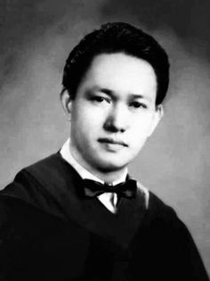 """Alfredo Lim, BS Business Administration, University of the East, Manila, 1951 #kasaysayan #pinoy #classpicture — He worked as a policeman for three decades and was known as """"Dirty Harry"""" because of his extreme methods. He retired with the rank """"General"""" and entered politics. He served as a senator and as the Mayor of Manila. He died in 2020 from COVID-19 conplications. University Of The East, Class Pictures, Our Country, Pinoy, Manila, Filipino, Abraham Lincoln, Politics, Business"""