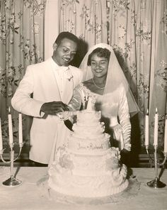 Newlyweds Jean and Richard, 1950's Happiness and Hope✨