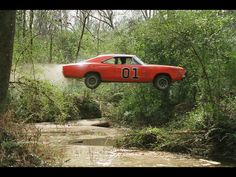 The Dukes of Hazzard might help explain my early driving experiences...oh yeah!