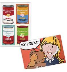 Buenas ideas para decorar la casa con un toqueinfantil y muy Warhol.