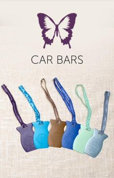 Have you heard about these awesome products called Car Bars? They are great for keeping your car smelling fresh and clean. Scentsy's air freshener for cars has your favourite fragrance packed into a bar. For quick jaunts and long journeys, our Scentsy Car Bar delivers fragrance that lasts up to thirty days. Our Scentsy fragrance scented car bars come with a ribbon-embellished with the fragrance name-for hanging. Scentsy Car Bars come in 12 different scentsy fragrances.