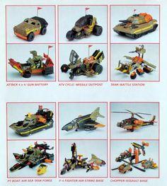 Xpanders PT Boat Air Sea Task Force 1989 Galoob