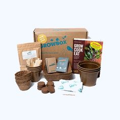 GROWBox - GROW HQ Waterford City, Organic Compost, Most Nutritious Foods, Grow Your Own Food, Keep It Simple, Dog Food Recipes, Irish, Branding Design, Goodies