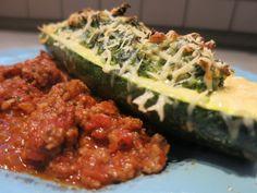 Low Carb Rezepte von Happy Carb: Spinat-Ricotta-Zucchini al forno - Für die italienischen Momente.