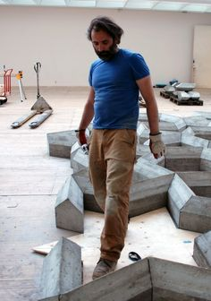 Mike Nelson at Malmö Konsthall (Contemporary Art Daily) Concrete Sculpture, Contemporary Art Daily, Light And Space, Installation Art, Im Not Perfect, Passive House, Inspiration, People, Ceramics