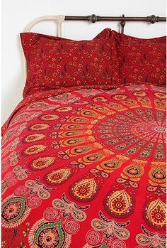 Shop Medallion Tapestry Sham - Set Of 2 at Urban Outfitters today. We carry all the latest styles, colors and brands for you to choose from right here. Duvet Covers Urban Outfitters, Apartment Essentials, Deco Boheme, Bohemian Decor, Bohemian Fabric, Bohemian Bedrooms, Gypsy Decor, Bohemian Living, Bohemian Style