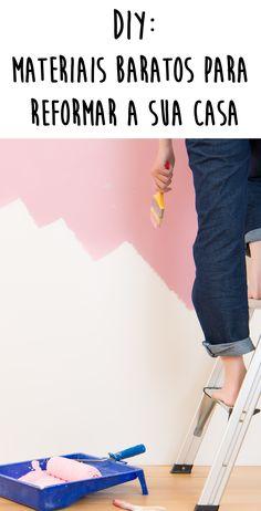 Faça Você Mesma: materiais baratos para decorar a casa gastando pouco Cortiça, madeira pinus e latas de metal são ótimas para criar objetos legais! Girls Bedroom, Bedroom Decor, Do It Yourself Decoration, Feng Shui, Dyi, Have Fun, Diy And Crafts, Sweet Home, Art Deco