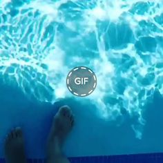 What an unusual pool