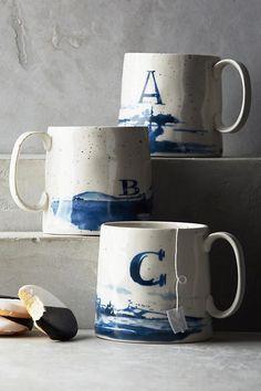 Slide View: 1: Buoyant Letters Mug