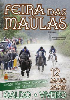 Feria de las Maulas. Galdo. 2º domingo de Mayo.