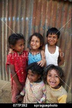 Children of Aileu, East Timor stock image