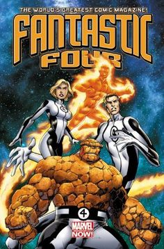 Fantastic Four by Matt Fraction & Mark Bagley, arrives in November 2012 as part of Marvel Now! from Marvel Comics. Marvel Dc, Logo Marvel, Marvel Comics Art, Captain Marvel, Captain America, Fantastic Four Logo, Fantastic Four Marvel, Mister Fantastic, Batman Christian Bale