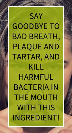 Say Goodbye To Bad Breath, Plaque And Tartar, And Kill Harmful Bacteria In The Mouth With This Ingredient! Health Resources, Health Tips, Health And Wellness, Natural Teething Remedies, Natural Cold Remedies, Herbal Remedies For Depression, Questionnaire, Turmeric Health Benefits, Cellulite Remedies