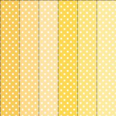 Polka dots digital paper scrapbook digital texture mellow fruity juicy yellow color $.90 for instant download