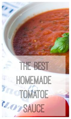 HOMEMADE TOMATO SAUCE MADE WITH BEAUTIFUL FRESHLY PICKED PLUM TOMATOES. IT IS REALLY DELICIOUS, YOU CAN EAT JUST IIKE THIS ON PASTA, BUT IT ALSO SERVES ME AS MY BASE FOR MY VODKA SAUCE, MY PIZZA SAUCE OR OTHER TOMATO-BASED SAUCES. Find the recipe here https://www.noblerecipes.com/2017/05/03/homemade-tomato-sauce/