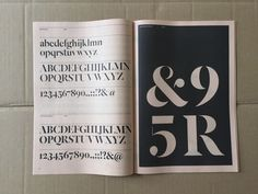 New York Times Magazine celebrates bespoke type in new show and publication - Creative Review