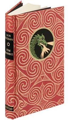 The Hobbit | Folio Illustrated Book- just beautiful. Since I read it every fall over steamy mugs of coffee I think I need an awesome looking copy. But...I might get coffee on it...