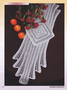 love this doily... so Retro