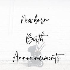 Newborn Birth Announcements, Math, Math Resources, Early Math, Birth Announcement Cards, Mathematics