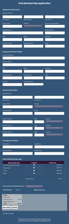 Application for Employment form It\u0027s free Borneosoft Online Form