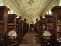 Oxford University Queen's College Library in Oxford, England   16 Libraries You Have To See Before You Die