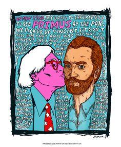 Jermaine Rogers' Primus Poster