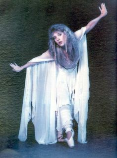Stevie Nicks.I got this poster from a record store display... got one for my best friend, and one for me. It was a promo for Bella Donna.