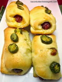 Sausage & Jalapeno Kolaches...these are famous in parts of Texas, but now you can make your own!  Try it with Habanero Havarti cheese!