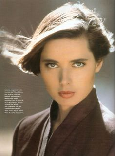 Isabella Rossellini A beautiful woman who I had the joy of meeting back in I always thought she was the most beautiful woman I had ever met. That is until I met the love of my life. Timeless Beauty, Classic Beauty, Most Beautiful Women, Beautiful People, Swedish Actresses, Isabella Rossellini, Divas, Italian Actress, Italian Beauty