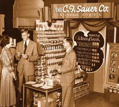 Sauer's...I loved the smell of Vanilla Flavoring when we went to Downtown Richmond, VA.