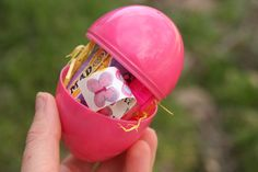 easter egg care package in the mail