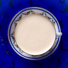 Hot Cashew Milk with Coconut Oil